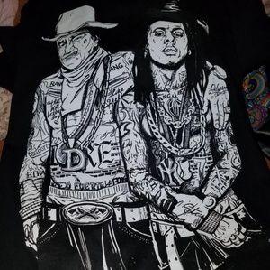 Lil Wayne/ John Wayne shirt HTF